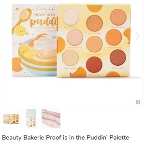 Proof is in the puddinn' Eyeshadow pallet